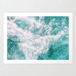 Whitewater 3 Art Print