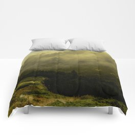 misty mountain Comforters