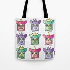 Nineties Furby Pattern  Tote Bag