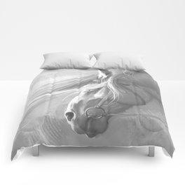 Grey Comforters