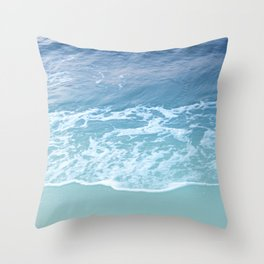 Turquoise Ocean Beauty Dream #1 #wall #decor #art #society6 Throw Pillow
