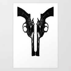 That's When I Reach For My Revolver Art Print
