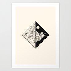 Magicians of the Gods Art Print
