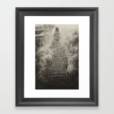 Way Of The Past Framed Art Print