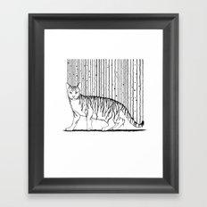 Inkcat5 Framed Art Print