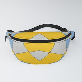 Abstract Retro Colored Butterfly Fanny Pack