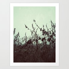 | Ode to January | Art Print