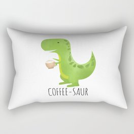 Coffee-saur Rectangular Pillow