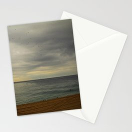 Barcelona beach Stationery Cards