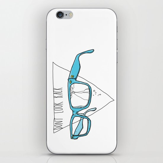 Don't Look Back iPhone & iPod Skin