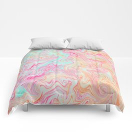 Tutti Frutti Marble Comforters