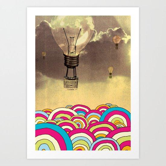 The Bubble Art Print