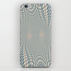 A bit of psychedelic play iPhone & iPod Skin