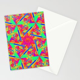 The flower Stationery Cards