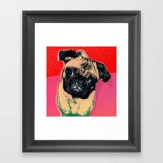 Pug #2 Framed Art Print