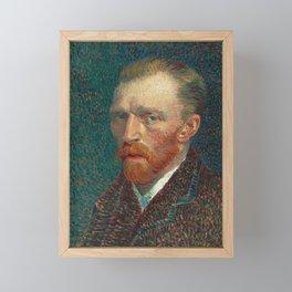 Self Portrait by Vincent van Gogh, 1887 Framed Mini Art Print