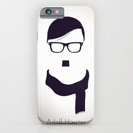 Adolf Hipster  iPhone & iPod Case