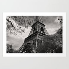 The Famous Tower 1 Art Print