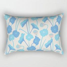 LOTUS POND Pattern Rectangular Pillow