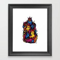 Monsterdelia Framed Art Print