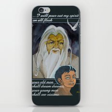 I Will Pour Out My Spirit iPhone & iPod Skin
