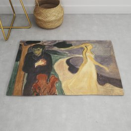 Separation by Edvard Munch Rug