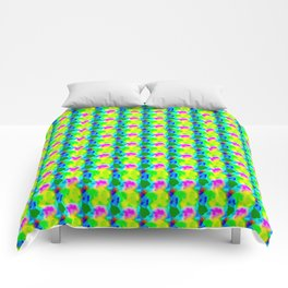 Leaves and flowers Comforters