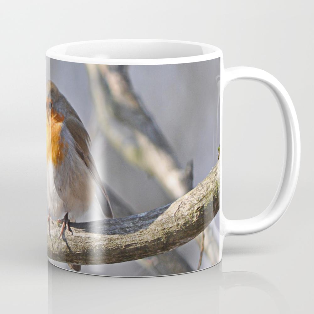 Robin Redbreast Mug by Pirminnohr (MUG915575) photo