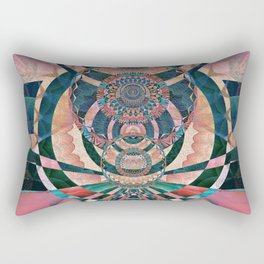 Down to the Top of the World Rectangular Pillow