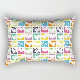 HEARTS A PLENTY Rectangular Pillow