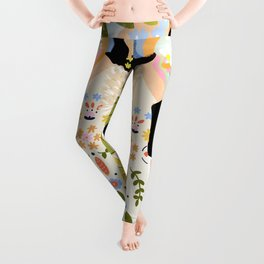 I Want To See The Beauty In The World Leggings