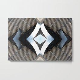 CPK 1111 - digital symmetry Metal Print