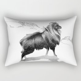 Tahr / Thar Rectangular Pillow