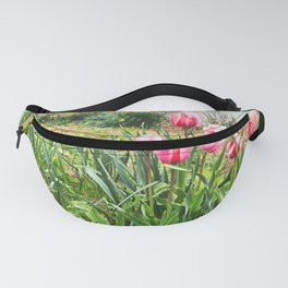 Flowers on the Charles Fanny Pack