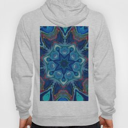 Topaz Soul Mandala Style Design - Fluid Nature Hoody