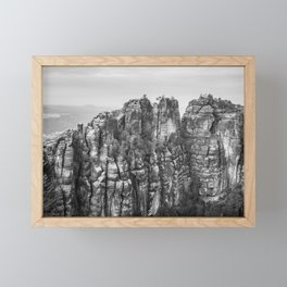 Saxon Switzerland, Germany Framed Mini Art Print