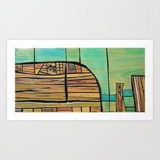 Port Phillip Bay Art Print