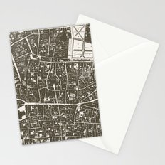 London Map Stationery Cards