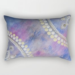 Galaxy Star Paintng Rectangular Pillow