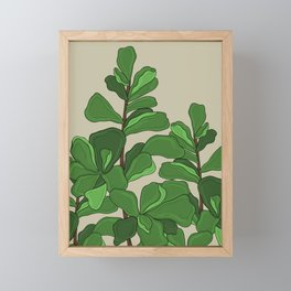 Fiddle Leaf Fig Framed Mini Art Print