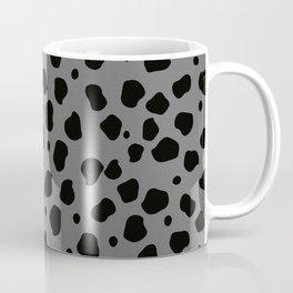 Cheetah Animal Black Gray #1 #pattern #decor #art #society6 Coffee Mug
