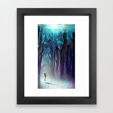 AquaForest Framed Art Print