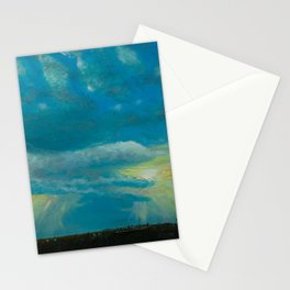 Lying in the grass Stationery Cards