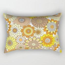 Thrifted Linen Goldenrod Rectangular Pillow