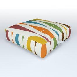 Mid-Century Modern Art 1.4 Outdoor Floor Cushion