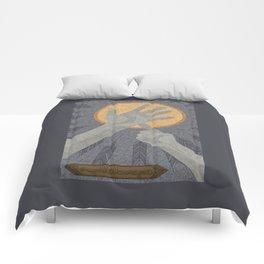 Dandelions - (Artifact Series) Comforters