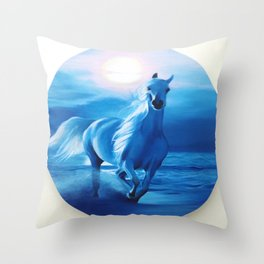 Horse from your dreams Throw Pillow
