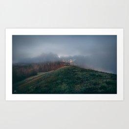 Waves of Fog Art Print