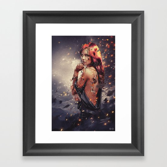 Endure Framed Art Print