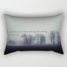 Your Mercies are New  Rectangular Pillow